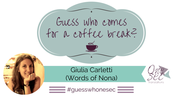 Guess Who Giulia Carletti Words of Nona