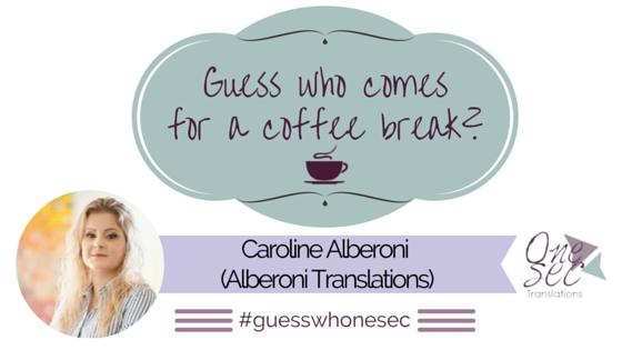 Guess Who Caroline Alberoni Alberoni Tranlations