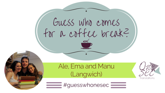 Guess Who Alessandra Emmanuele Manuela Langwich Translators